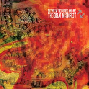 Between The Buried And Me - The Great Misdirect CD (album) cover