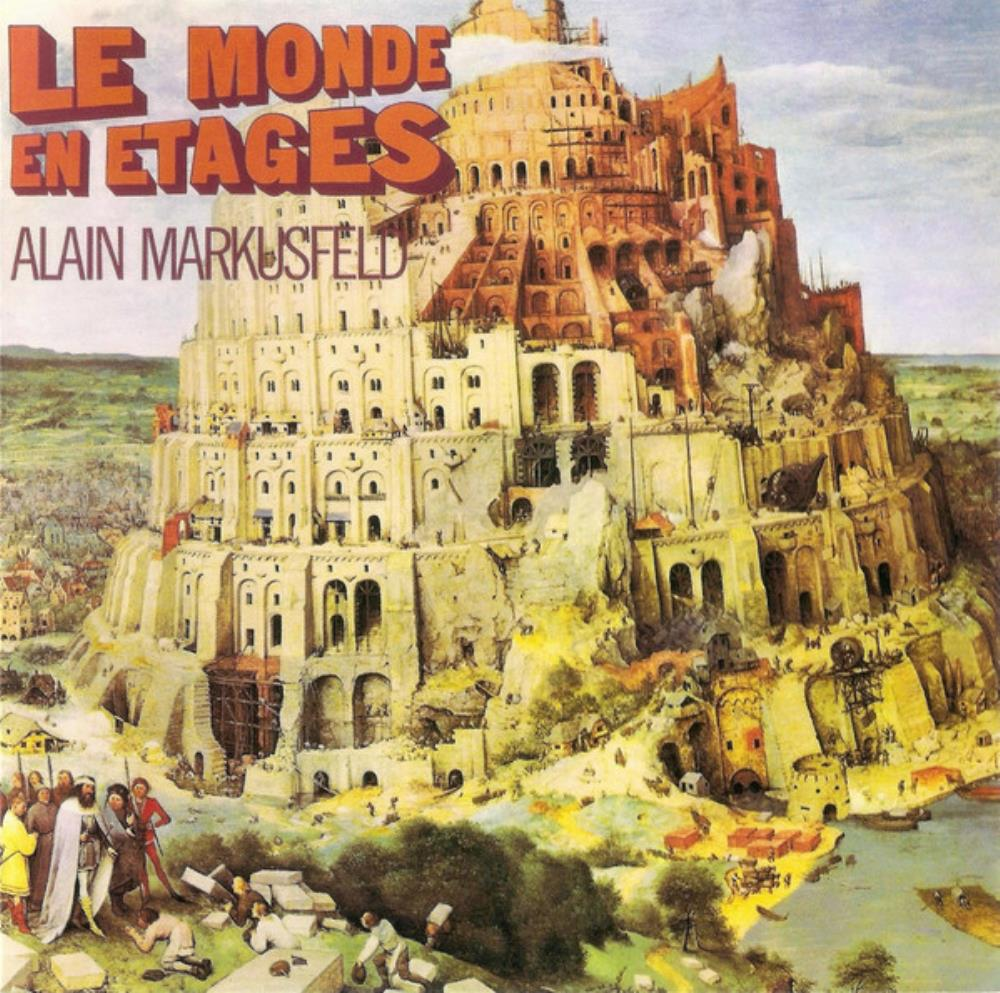 Le Monde En Étages by MARKUSFELD, ALAIN album cover