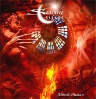 Sensitive To Light - Almost Human CD (album) cover