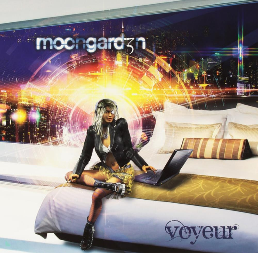 Voyeur by MOONGARDEN album cover