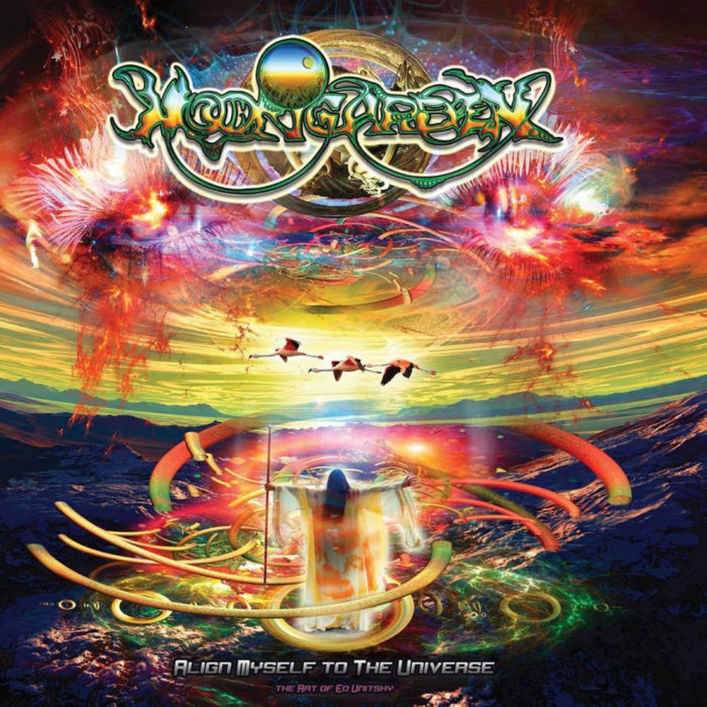 Align Myself To The Universe by MOONGARDEN album cover