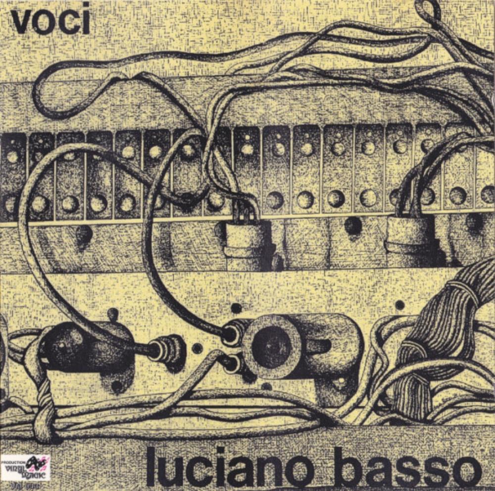 Voci by BASSO, LUCIANO album cover