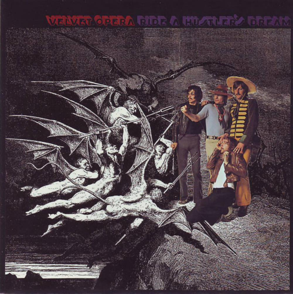 Ride A Hustler's Dream by VELVET OPERA (ELMER GANTRY'S) album cover