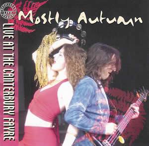 Mostly Autumn - Live At The Canterbury Fayre CD (album) cover