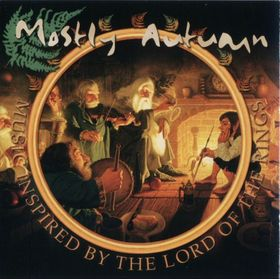 Mostly Autumn - Music Inspired By The Lord Of The Rings CD (album) cover