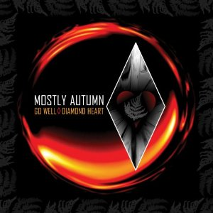 Mostly Autumn - Go Well Diamond Heart CD (album) cover