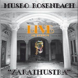 Museo Rosenbach - Zarathustra - Live in Studio CD (album) cover