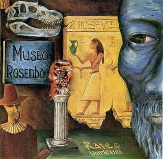 Museo Rosenbach Rare and Unreleased (recorded 1972) album cover
