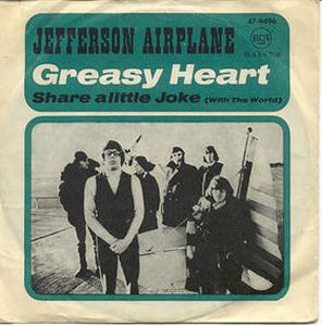 Jefferson Airplane Greasy Heart album cover