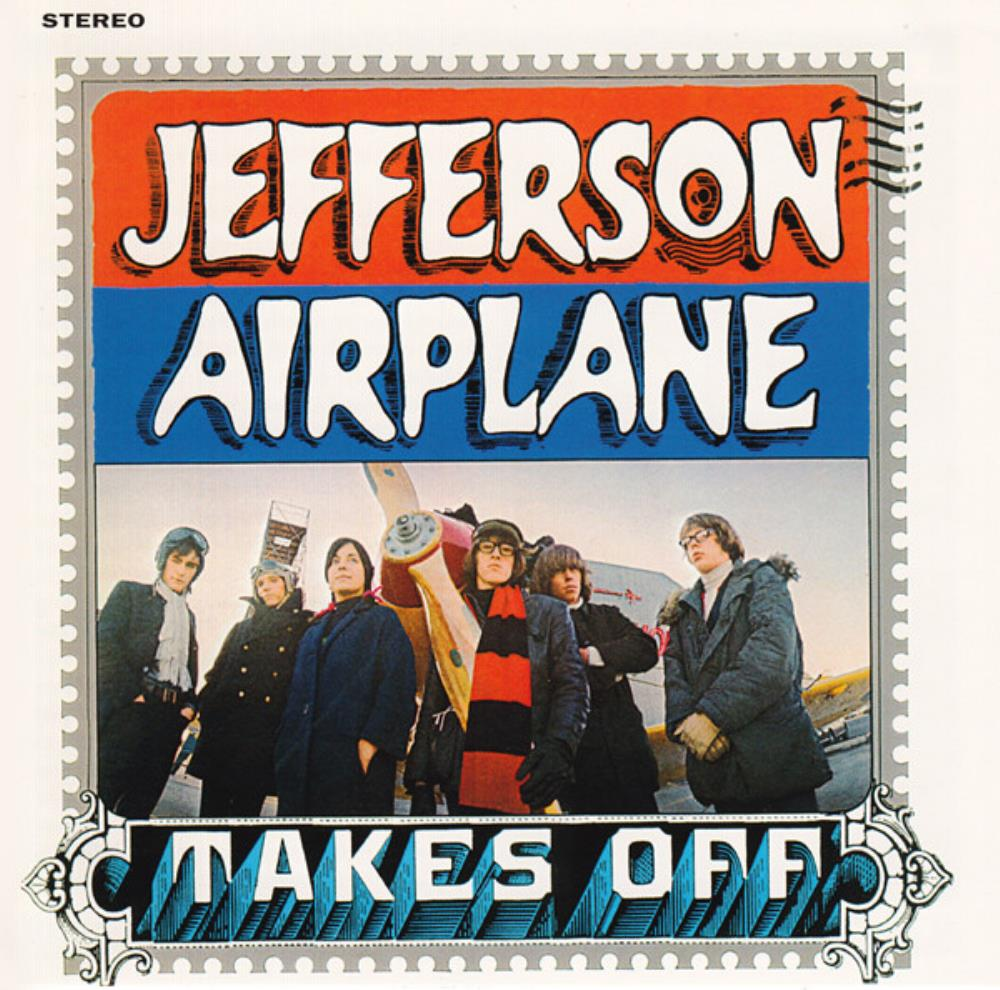 Jefferson Airplane Takes Off album cover
