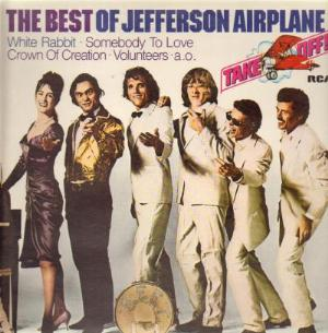 Jefferson Airplane The Best Of Jefferson Airplane album cover