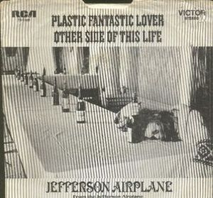 Jefferson Airplane Plastic Fantastic Lover (live) album cover