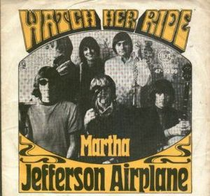 Jefferson Airplane Watch Her Ride album cover