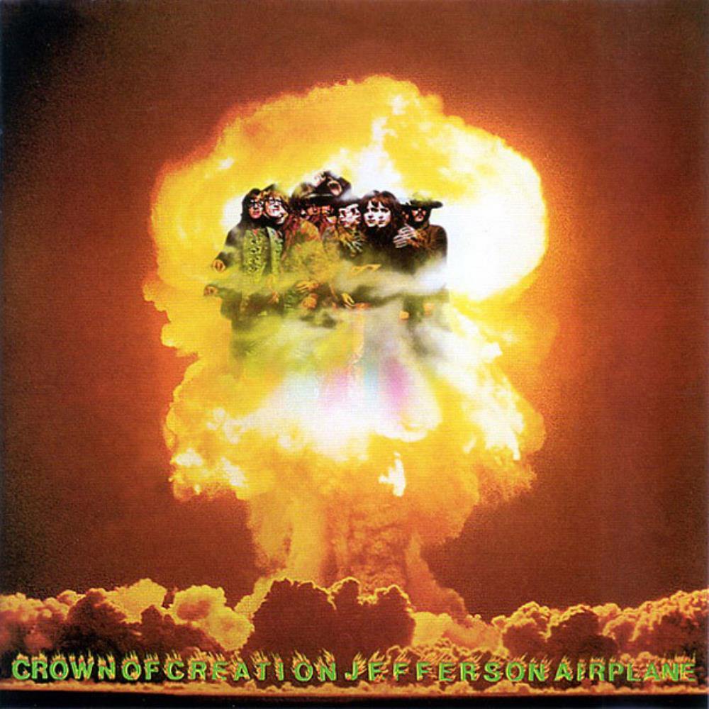 Crown Of Creation by JEFFERSON AIRPLANE album cover