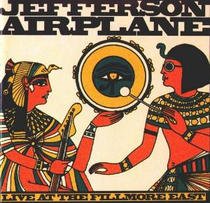 Jefferson Airplane Live At The Fillmore East album cover