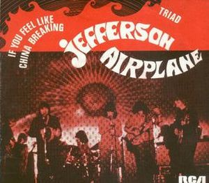 Jefferson Airplane If You Feel Like China Breaking album cover