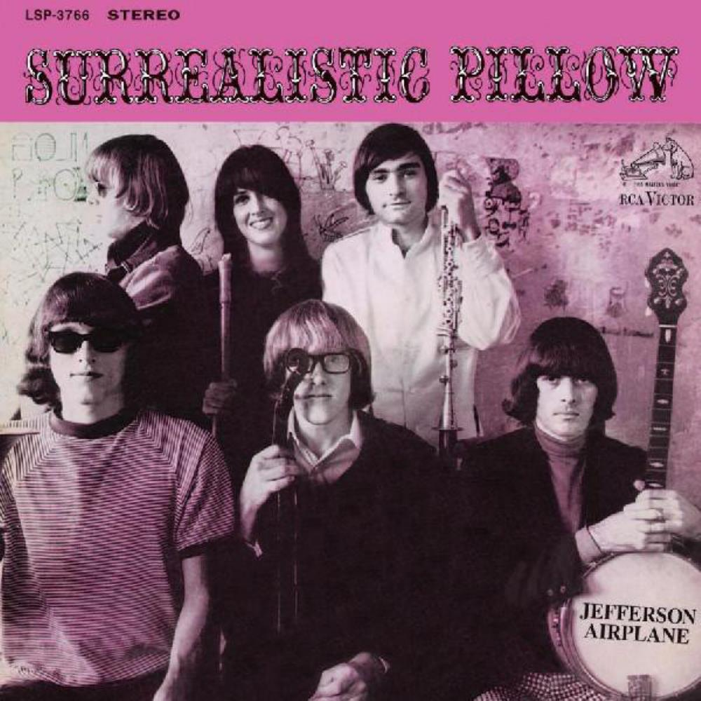 Jefferson Airplane - Surrealistic Pillow CD (album) cover