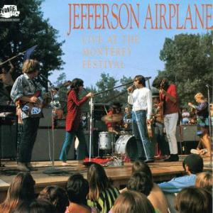 Jefferson Airplane Live At The Monterey Festival album cover