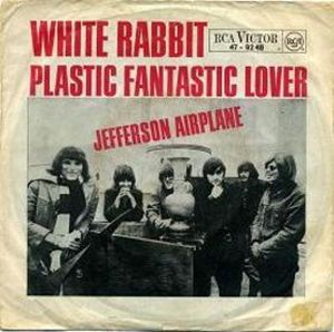 Jefferson Airplane White Rabbit album cover
