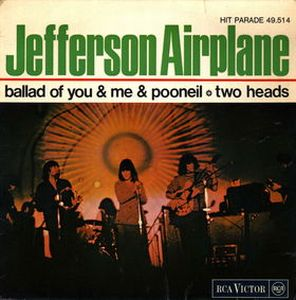 Jefferson Airplane The Ballad of You and Me and Pooneil album cover