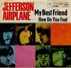 Jefferson Airplane My Best Friend album cover