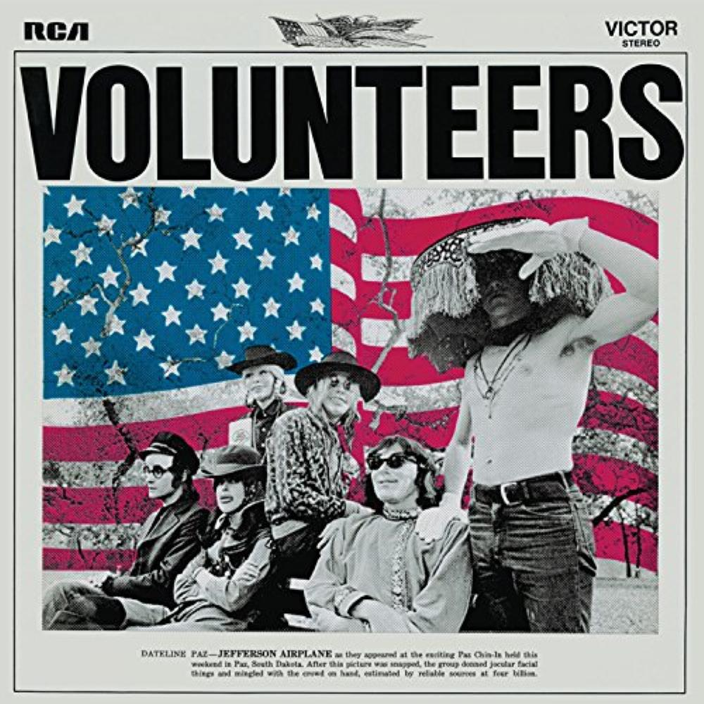 Jefferson Airplane - Volunteers CD (album) cover