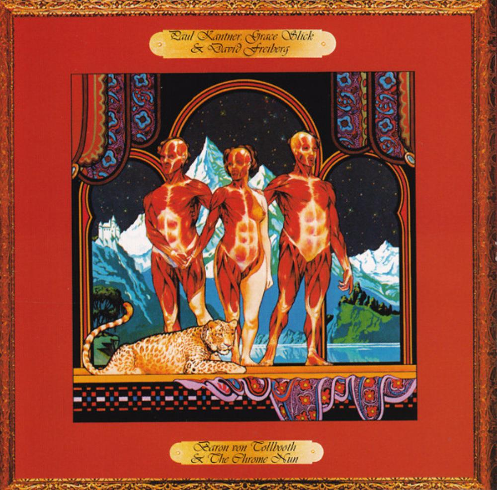 Jefferson Airplane Paul Kantner, Grace Slick & David Freiberg: Baron Von Tollbooth & The Chrome Nun album cover