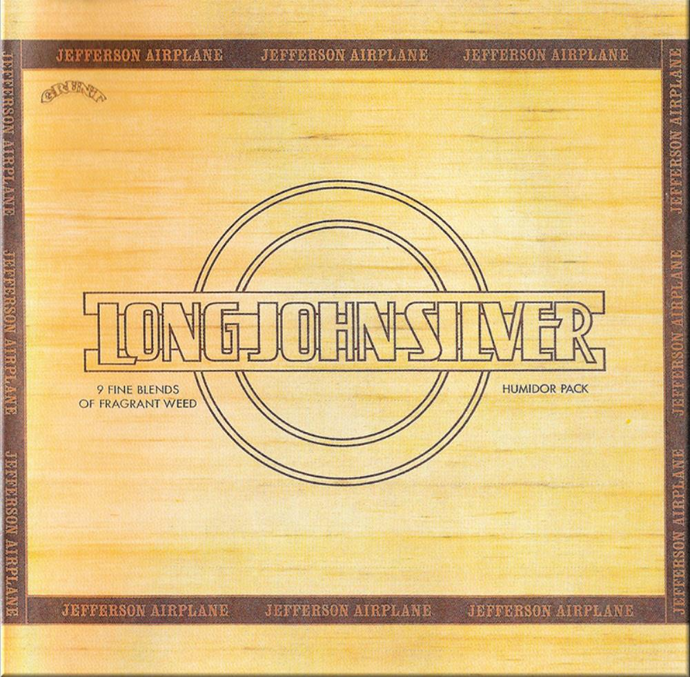 Jefferson Airplane - Long John Silver CD (album) cover