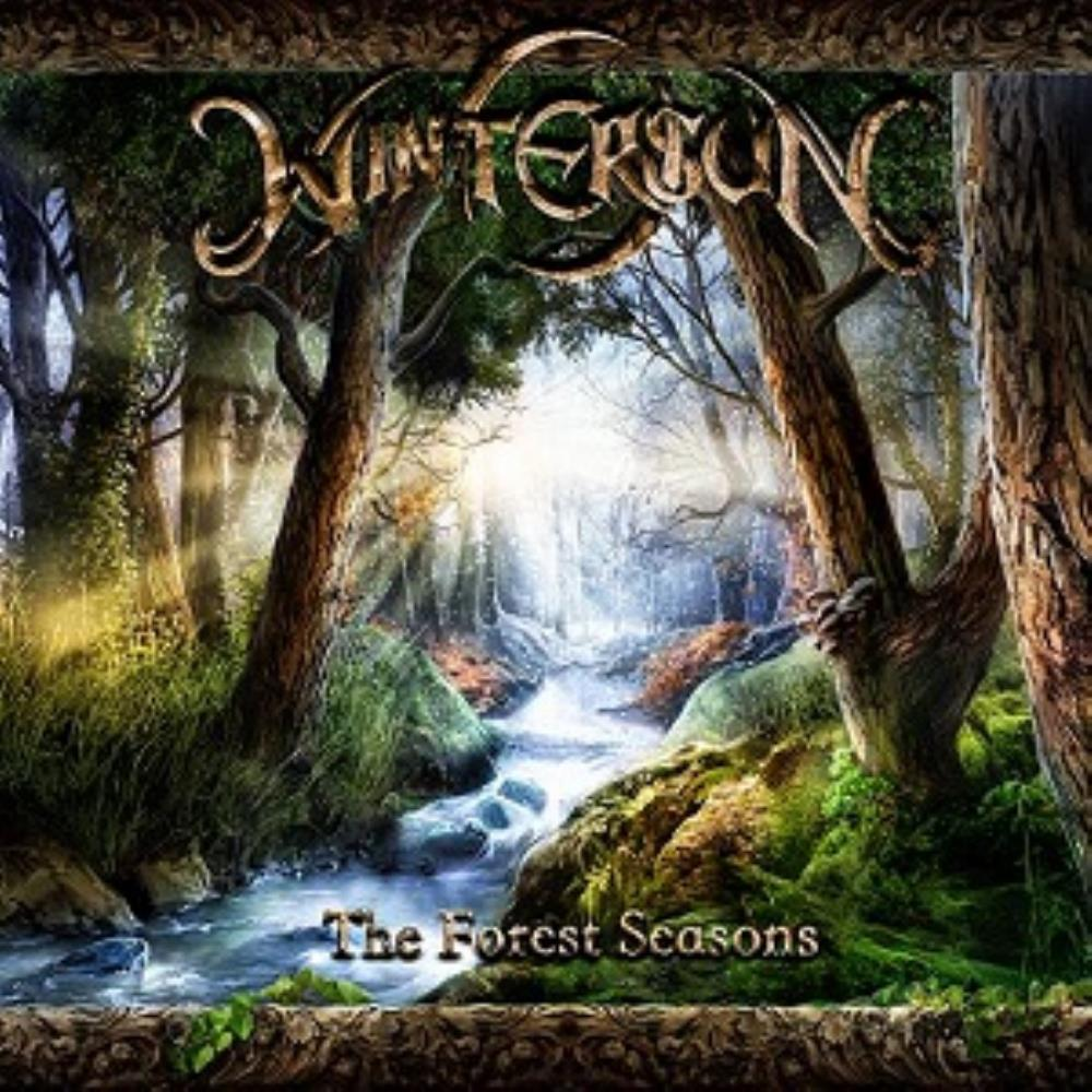 Wintersun - The Forest Seasons CD (album) cover