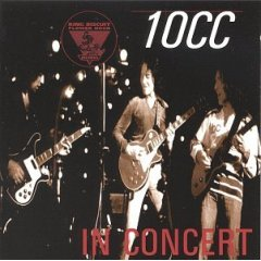 10cc - King Biscuit Flower Hour CD (album) cover