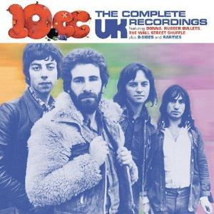 10cc The Complete UK Recordings 1972-1974   album cover