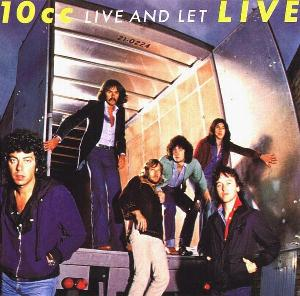 Live And Let Live   by 10CC album cover