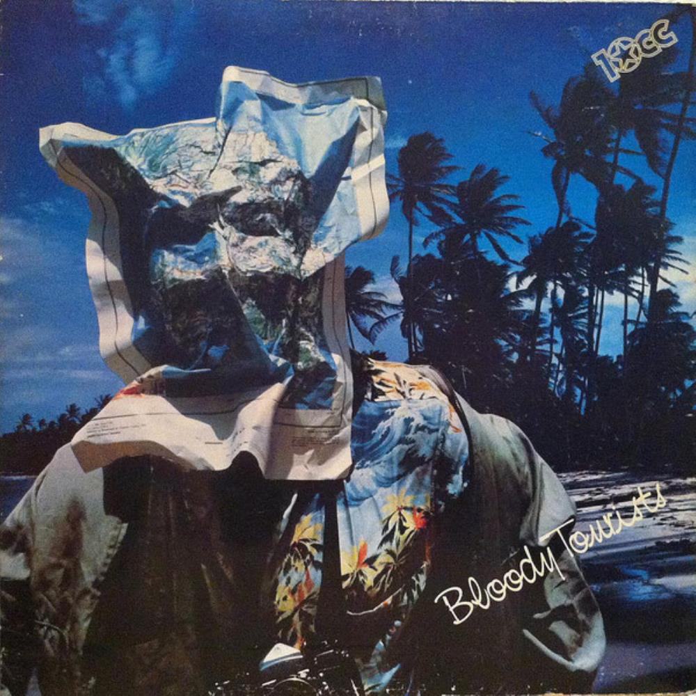 Bloody Tourists by 10CC album cover