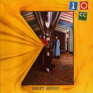 10cc Sheet Music album cover