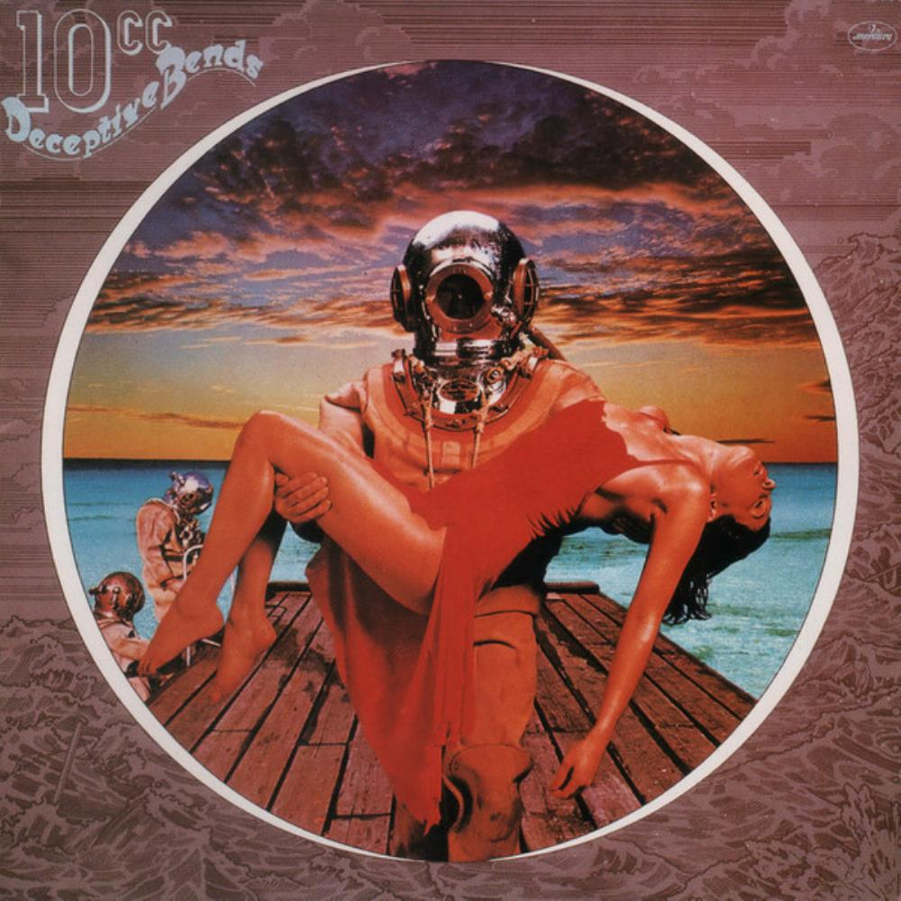 10cc Deceptive Bends album cover