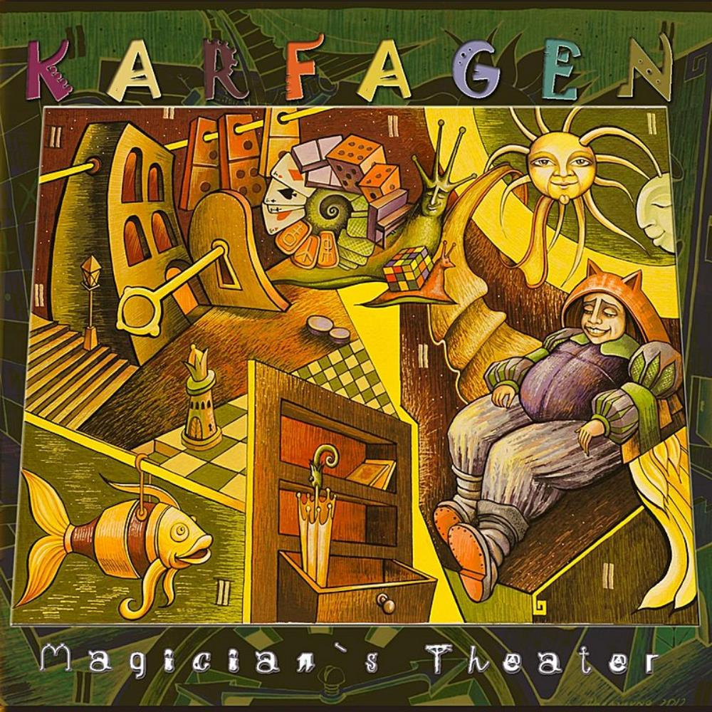 Magician's Theater by KARFAGEN album cover