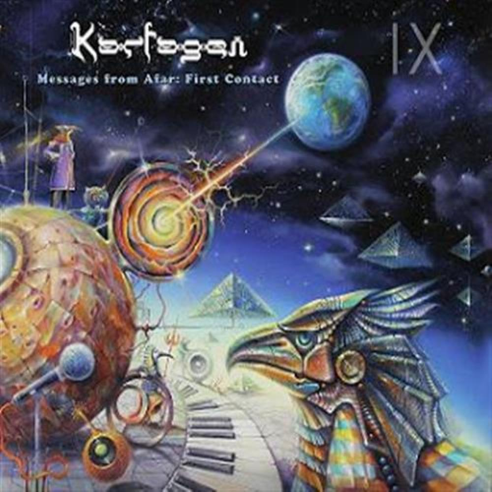 Messages from Afar: First Contact by KARFAGEN album cover