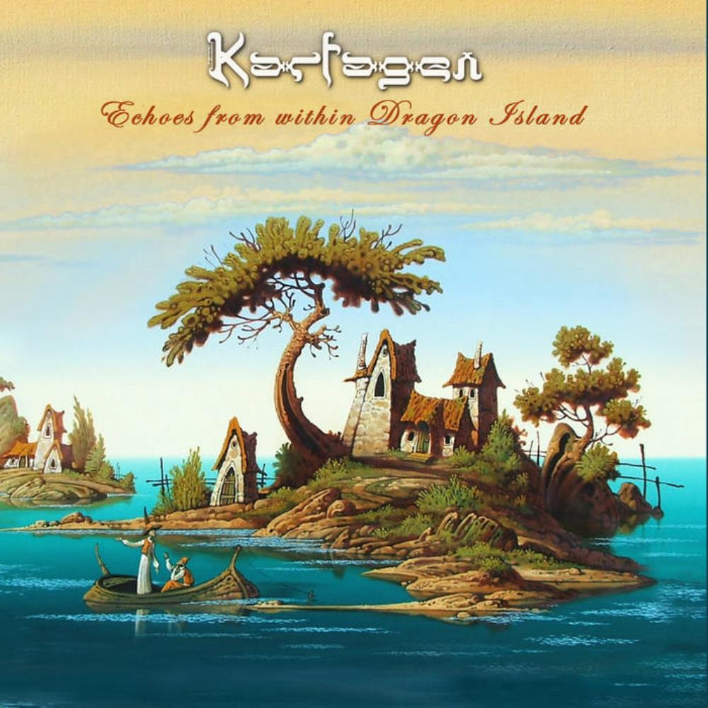 Karfagen - Echoes From Within Dragon Island CD (album) cover