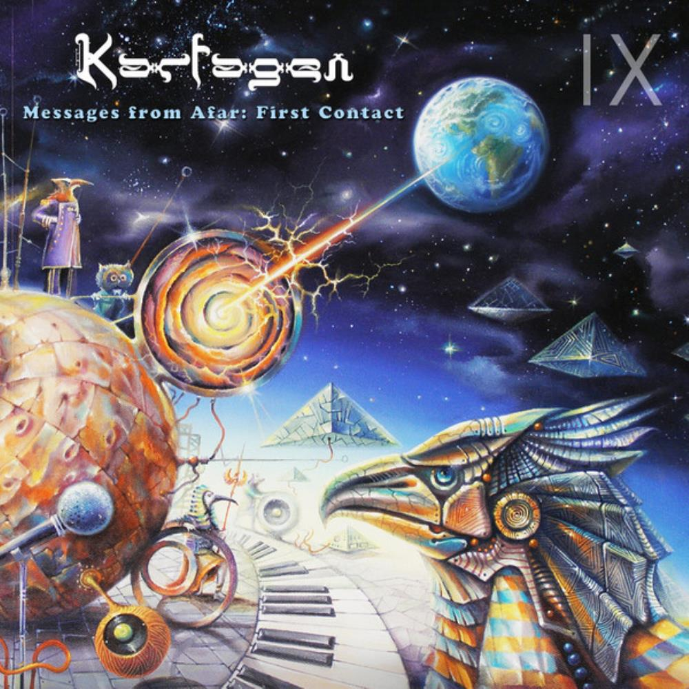 Karfagen - Messages From Afar - First Contact CD (album) cover