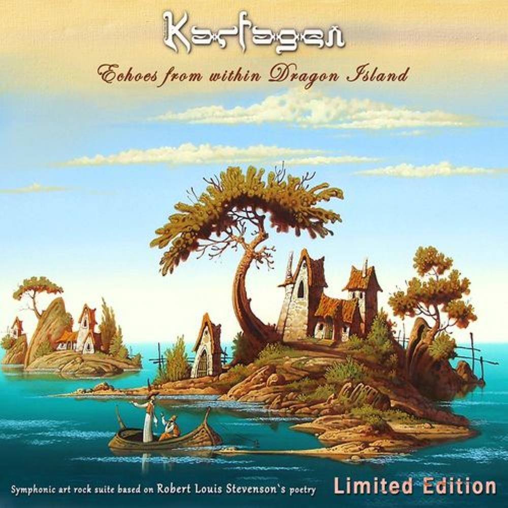 Karfagen Echoes from within Dragon Island album cover