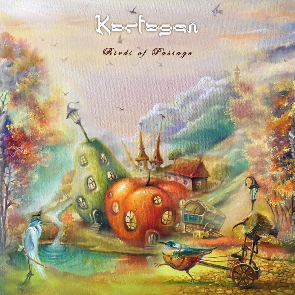 Birds Of Passage by KARFAGEN album cover
