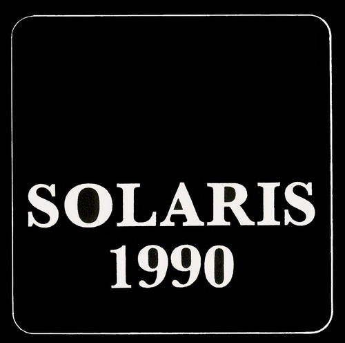 Solaris - Solaris 1990 CD (album) cover