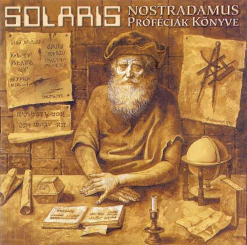 Solaris - Nostradamus Book Of Prophecies CD (album) cover
