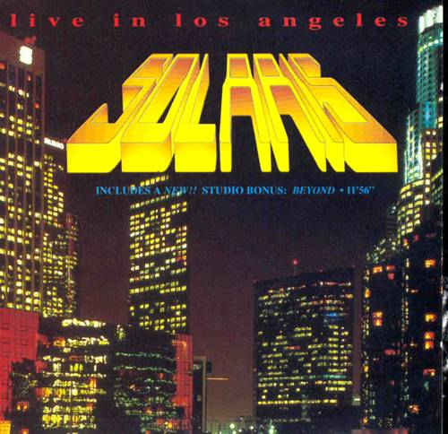 Solaris Live in Los Angeles album cover