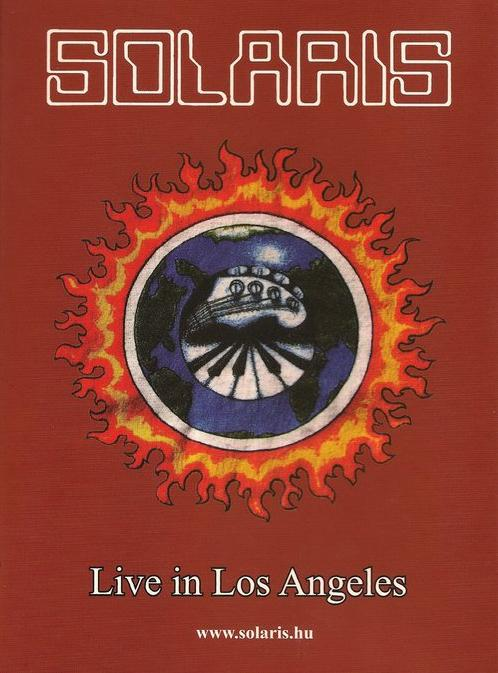 Solaris - Live In Los Angeles 1995 (Official bootleg) CD (album) cover