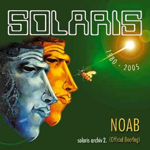 Solaris - NOAB (official bootleg) CD (album) cover