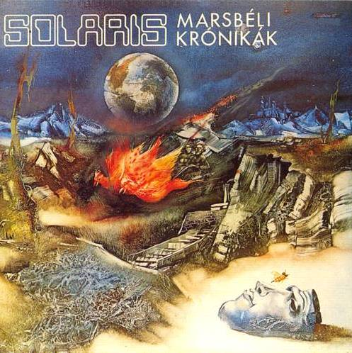 Solaris - Marsb�li Kr�nik�k (The Martian Chronicles) CD (album) cover