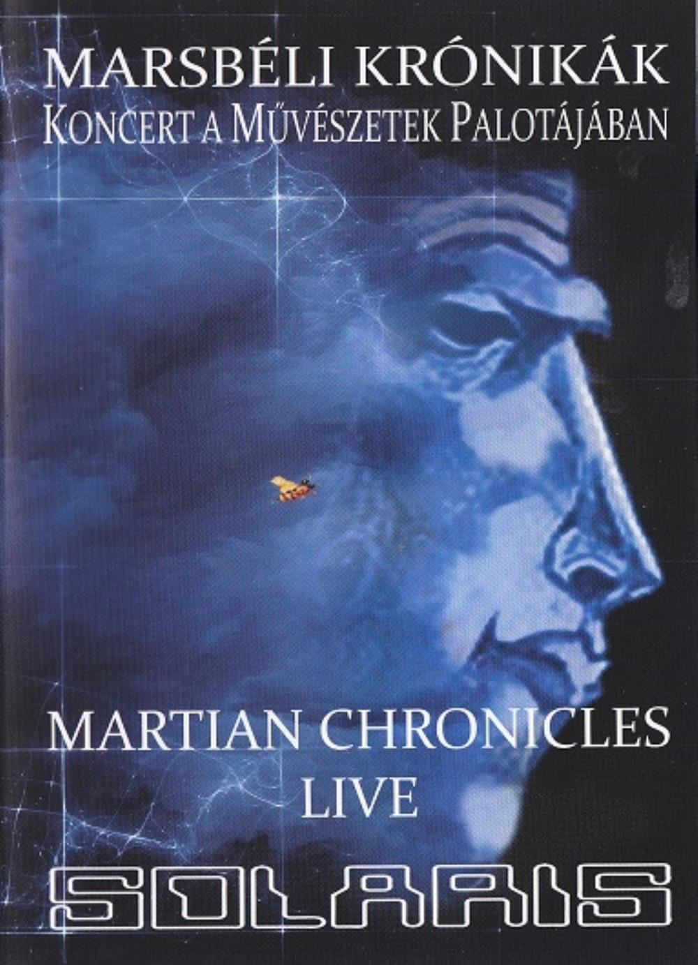 Solaris Martian Chronicles Live album cover