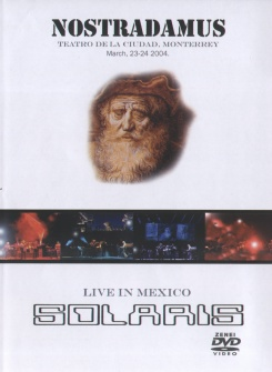 Solaris Nostradamus - Live in Mexico (DVD+CD) album cover