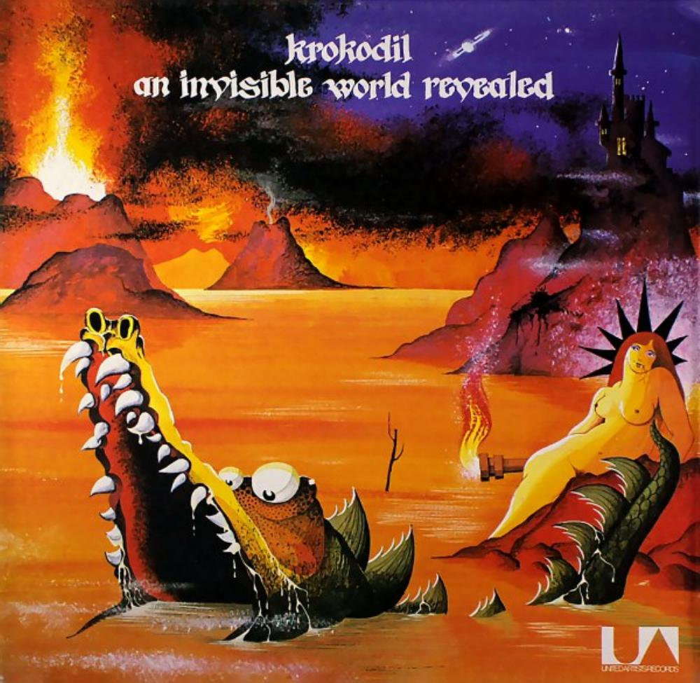 Krokodil - An Invisible World Revealed CD (album) cover